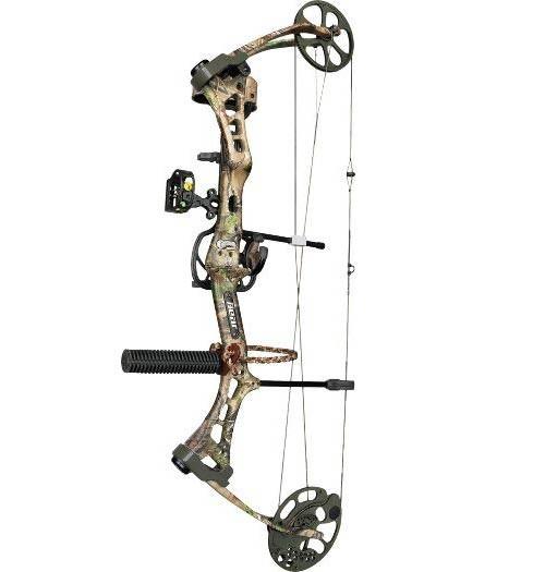 Лук блочный Bear Archery Mauler RTH Realtree APG